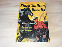 THE BLACK STALLION REVOLTS Walter Farley HC/DJ 1953 13th printing