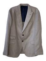 New ELEVENTY Platinum Special Collection Fabric By ZEGNA Mens 56 Blazer Gray