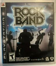 Rock Band (Sony PlayStation 3, 2007) Read Description