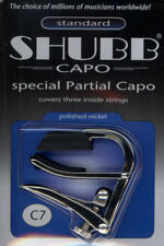 Shubb Special Partial Capo C7 Polished Nickel