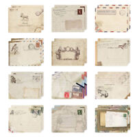 12 X Small Ancien Envelopes Vintage Retro Style for Mini Cards Western Envelope