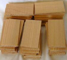 Krippenzubehör 50St. Schindeln 40x75mm Lärchenholz Krippengestaltung Krippenbau