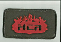 HCA flames advertising patch 2-1/2 X 4-1/2 #173