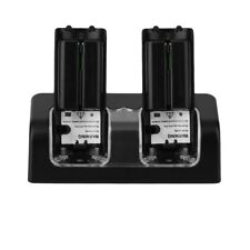 NEW Charger Station 2x 2800mAh Rechargeable Battery for Wii Remote Control