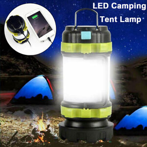 Tragbare 12SMD Outdoor LED Camping Laterne Taschenlampen Auto Notfall Licht