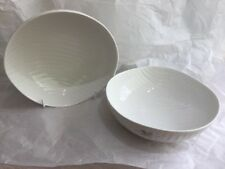 Sophie Conran For Portmeirion Pair of White Oak Cereal Bowls 17cm - New/Unused