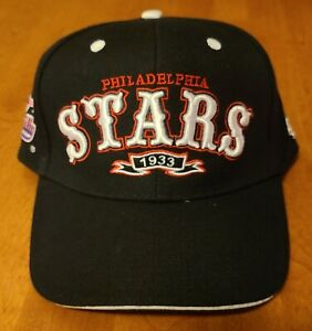 Philadelphia Stars 1933 NLBM Negro League Discover Greatness Strapback HAT