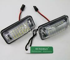 24SMD LED License Plate Light For Subaru BRZ Legacy WRX STI Impreza XV Crosstrek