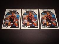 Rony Seikaly 1989 NBA Hoops #243 Heat Syracuse Signed Authentic Autograph A14