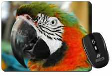 Face of a Macaw Parrot Computer Mouse Mat Christmas Gift Idea, AB-PA75M