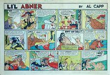 Li'l Abner by Frank Frazetta - large half-page color Sunday comic - May 29, 1955