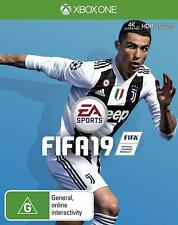 Sealed Xbox One Fifa 19 Standard Edition EA Sports Console Soccer Game