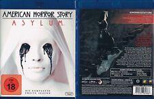 AMERICAN HORROR STORY - ASYLUM --- Staffel 2 --- Blu-ray --- Uncut --- FSK 18 --