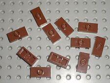 11 x LEGO RedBrown Plates ref 3794 / Set 10243 10189 79008 10224 4842 10223 7097