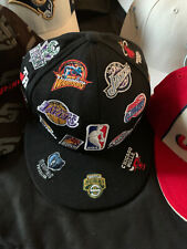 Reebok NBA All Teams Logos Hat Size 7 1/2 - Embroidered (Basketball)