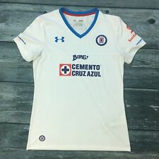 91d72441252 Deportivo Cemento Cruz Azul Under Armour Jersey Medium White Mexico