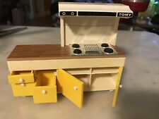 New ListingVintage Tomy Dollhouse Furniture Kitchen Set