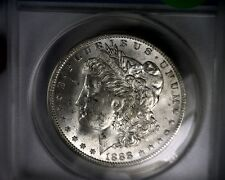 ANACS MS63 1888-O SCARFACE EDS VAM 1B1 HARRISON STAGE 2 MORGAN SILVER DOLLAR