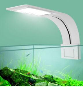 LED Waterproof Clip-on Lamp Aquarium Light Plants Grow Light Aquatic Lighting