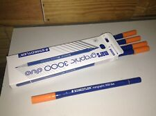 Staedtler Mars Graphic 3000 Brush Marker - Twin (5pcs/pack) 004 ORANGE