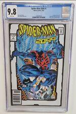 Spider-Man 2099 #1 Toybiz White 2nd Print Variant HTF Marvel 2001 CGC Graded 9.8