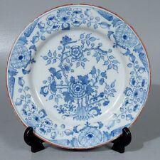 Antique 18th Century Dutch Delft Plate # 2 - PT