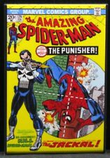 """The Amazing Spider Man #129 Comic Book Cover 2"""" X 3"""" Fridge Magnet. The Punisher"""