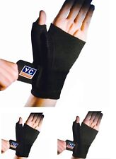 All in One Hand Palm Wrist Thumb Splint Brace Support Pain Relief Sprain NHS