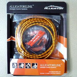 gobike88 Alligator iLINK gold brake cable set, LY-FLEX-B, 102