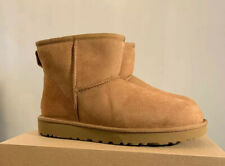 UGG CLASSIC MINI II WOMAN'S BOOTS 1016222 SIZE 11, CHESTNUT AUTHENTIC WOMAN BOOT