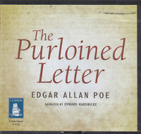 Edgar Allan Poe The Purloined Letter CD Audio Book Unabridged Thriller FASTPOST