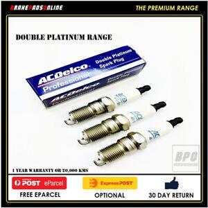 Spark Plug 3 Pack for Daihatsu Pyzar G301 1.6L 3 CYL HDEP 9/98-6/05 41801