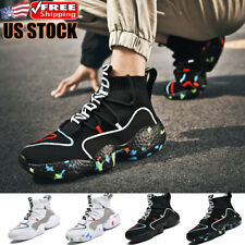 Men's Athletic Basketball Shoes Casual Running Sports Sneakers Outdoor Gym Size