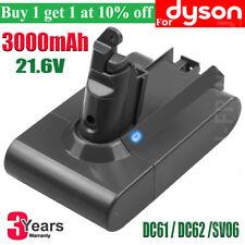3.0Ah For Dyson ANIMAL Battery V6 DC58 DC59 DC61 DC62 SV04 SV05 SV06 SV07 PAS CC