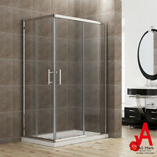 860x900 Framed Shower Screen Cubicle Square