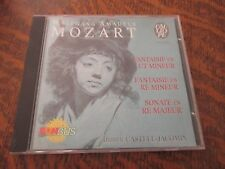 cd album WOLFGANG AMADEUS MOZART fantaisie en ut mineur k.475