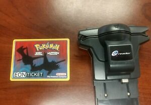 Eon Ticket 2003 Pokemon Card S.S. Tidal Ruby & Sapphire with Nintendo E-Reader
