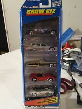 Hot Wheels Gift Pack Show Biz! Lot of 5 cars w/Ferrari