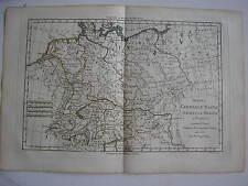CARTE de GERMANIAE MAGNAE par BONNE carte ancienne 1780 allemagne germanie ...35