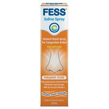 FESS Frequent Flyer Spray 30mL ::Relief of Nasal Congestion::  ::Moisturising::