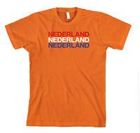 Netherlands Cotton Unisex T-Shirt Tee Shirt Top