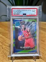 2017 Donruss Optic Lime Green 🔥 OG Anunoby 🔥 #178 RC Rookie PSA 9 Mint /139