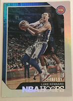 2018-19 Panini NBA Hoops Silver #124 Luke Kennard Detroit Pistons Mint /199