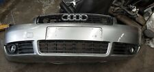 AUDI A4 B6 2004 CONVERTIBLE FRONT BUMPER BAR WITH GRILL FITS 07/01-02/05 GREY