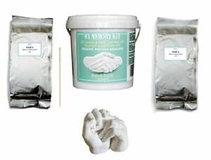 3D Hand Casting Kit - DIY Plaster cast mould for memories