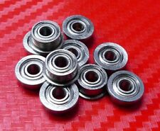 10pcs SF682zz (2x5x2.3 mm) FLANGED 440c Stainless Metal Shielded Ball Bearings