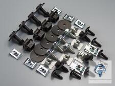 1x set unterfarschutz protección del motor kit reparación clips audi a6 c5 a6 c6