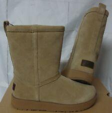UGG Classic Short Waterproof Sand Suede Sheepskin Boots Size US 6.5, EU 37.5 NIB