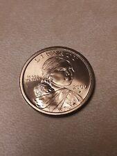 2000 P SACAGAWEA ONE DOLLAR US LIBERTY GOLD COLOR COIN