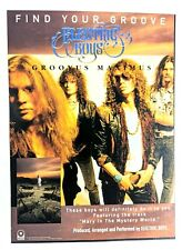 Electric Boys / Conny Bloom / 1992 Groovus Maximus Lp / Album Magazine Print Ad